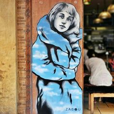 Zabou - street art bricklane london - aout 2015