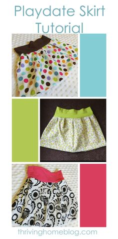 Baby skirt tutorial for the beginning sewer. Easy and VERY cute! @michellehickey I really pinned this for you because it is so stinkin cute!!