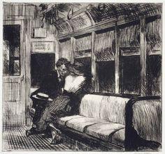 night on the el train