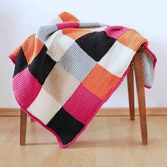 Ravelry: nickihirsch's Tunisian Patchwork Baby Blanket