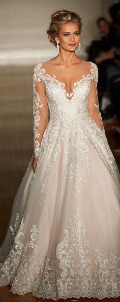 New York Bridal Week - Allure Bridals Spring 2017 #bride