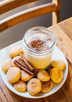 Snickerdoodle Shakeology // healthy recipes // shakeology recipe ideas // beverages // drinks // shakes // holiday recipes // snacks // treats // cookies // eat clean // nutrition // Beachbody // BeachbodyBlog.com