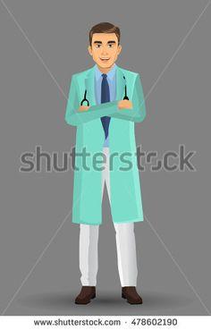 Surgeon, Vector illustration