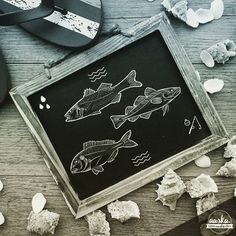 AASKA @aaska.graphiste.illustratrice) #aaska, #freelance, #graphicdesign, #illustration, #fish, #pisces, #drawing, #sea
