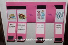 Handmade Creativity: Come organizzare la routine quotidiana dei bambini