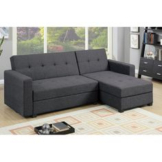 Found it at Wayfair - Bobkona Medora Reversible Chaise Sectional