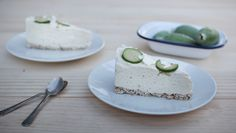 Feijoa Cheesecake (a healthier version)
