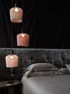 The shape of this Jar Lamp is inspired by the shape of earthenware jars, and reminds us of the name 'Ukhamba' which means 'vessel' in isiZulu. Hang them on their own or as a cluster to create a stunning focal point in the room.
