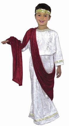 Caesar Kids Costume - Roman Costumes
