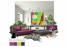 Check out this moodboard created on @olioboard: Contemporary Color by abbielevy