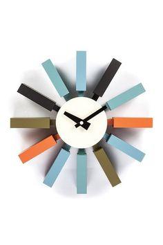 "Multi Block 12"" Clock by Control Brand on @HauteLook"