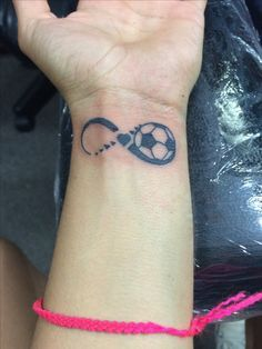 inspiring soccer tattoo the difference between who you are and who rh pinterest co uk Small Soccer Tattoos Tattoo Designs