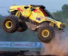 Monster truck mayhem #gladstone #monstertrucks #fireworks #queensland Monster Truck Madness, Big Monster Trucks, You Monster, Monster Jam, Hot Rod Trucks, Lifted Trucks, Big Trucks, Pickup Trucks, Big Ride
