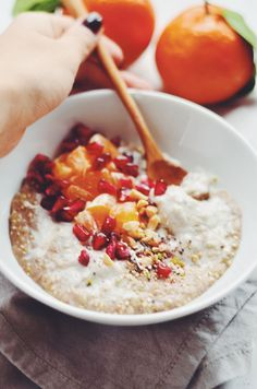 Hey there! I love porridge, it's so delicious and warming, just perfect for winter. Yet, I've ben having it heaps over the past weeks so I decided to mix it up a little and swap out the oats for buckwheat and quinoa. To be truly honest I've never been a big fan of quinoa, I...Read More »