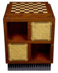 Art Deco Coffee Chess Table Centre Table Side Table Furniture - Art deco furniture