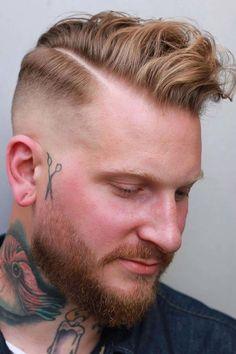 Fade Haircut + Undercut ❤ #lovehairstyles #menshair #hairstylesformen #menshaircuts Comb Over Fade Haircut, Short Fade Haircut, Curly Undercut, Undercut Hairstyles, Male Hairstyles, Updo Hairstyle, Unisex Haircuts, Haircuts For Men, Men's Haircuts