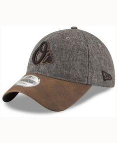 New Era Baltimore Orioles Butter Tweed 9TWENTY Cap - Brown Adjustable
