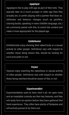 Test bdms Sex Personality