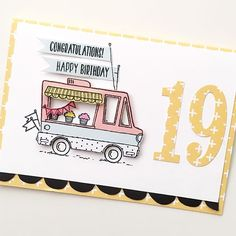 A little birthday wish for my baby who just turned 19 #cardmaking #papercraft #stampinup