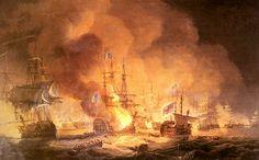 Bataille de Lépante, le Capitaine Davide Imperiali a sauvé la galère de Marcantonio Colonna, en sacrifiant un de ses navires.