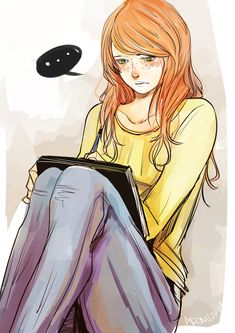 aegisdea: Destressing with Clary! I think we all can relate to Clary when it comes to venting out. I wish I could draw. Even a little. I ...