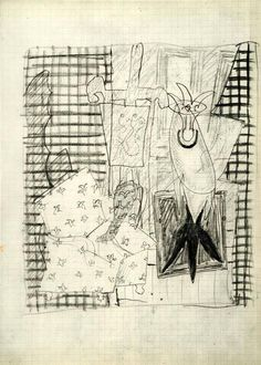Braque, sketchbook Alberto Giacometti, Georges Braque, Painting & Drawing, Still Life, Original Art, Sketches, Sketch Books, Drawings, Bones