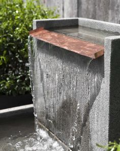 Free Shipping and No Sales Tax on the Falling Water II Garden Fountain from the Outdoor Fountain Pros. #Moderngarden