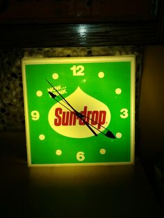 Just found this great sundrop clock!!!
