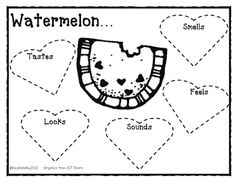 Teaching with Blonde Ambition: Watermelon Math Activities