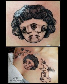 Tattoo by Nasa Nyc Tattoo, Tattoo Shop, Body Language Tattoo, Statue Tattoo, Queens Nyc, Custom Tattoo, Cute Tattoos, Nasa, Pretty Tattoos