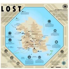 This was a Dharma Initiative version of the LOST island map.