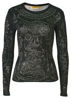 Tattoo Shirts by Master Tattoo Artists in Every Style: Women's Clothing