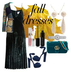 """fall dresses"" by selukeyho on Polyvore featuring Dion Lee, Schutz, Marc Jacobs, Etro and Gucci"