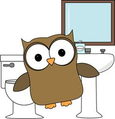 Owl Bathroom Monitor