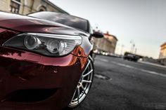 BMW Faro vehículo Burdeos color Smotra E60 Coches