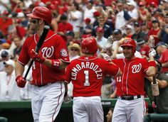 June 3 - WSH vs ATL - Steve Lomardozzi hits his first career homerun followed by Bryce Harper becoming the first rookie back-to-back homeruns in the history of modern MLB.