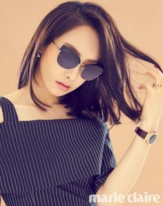 f(x)'s Victoria is peachy keen in 'Marie Claire'! | Koogle TV
