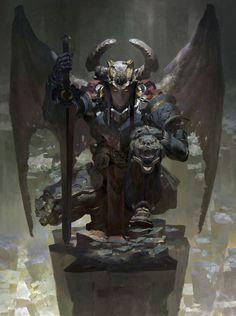 Necrodemon by Ruan Jia