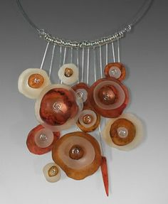Secret Life of Jewelry - A Universe of Handcrafted Art to Wear: Polymer and Wire - Laura Tabakman Jewelry