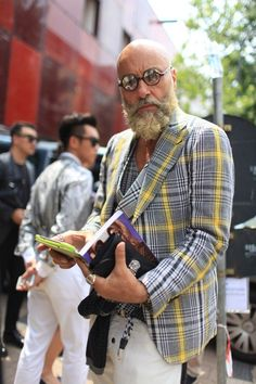 Fabulous Old Man Fashion Looks (2)