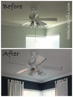 Batchelors way diy ceiling fan chandelier made from pvc rings made from pvc rings wired together wjewelry wires bellas room pinterest ceiling fan chandelier ceiling f aloadofball Images
