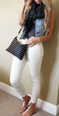 Melissa Danielle | fashion, beauty, lifestyle. Are white jeans