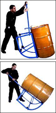 Drum Cradles for 55-Gallon (208 liter) Drum has 700 Lb. (318 kg) Capacity