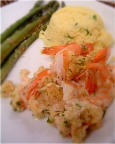 A Feast for the Eyes: Ina Garten's Baked Scampi & Two Side Dishes for a Complete Meal