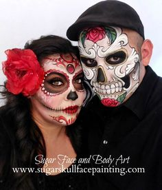 We provide professional sugar skull face painting and body painting services in los Angeles and orange county