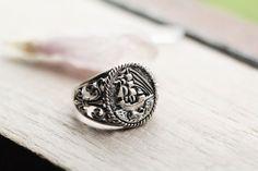 Rings for Men La Vagabonde Ring Nautical Ring Mens Ring