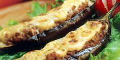 Η συνταγή αυτή μυρίζει παραδοσιακή ελληνική κουζίνα και ελληνικό καλοκαίρι.    | GASTRONOMIE | iefimerida.gr | συνταγή, μελιτζάνες, κιμάς, Μπεσαμέλ, κρεμμύδι Healthy Dishes, Tasty Dishes, Aubergine Recipe, Spanish Cuisine, Sauce Tomate, Nutrition, Eggplant Recipes, Relleno, Food To Make