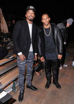 J.R. Smith + Victor Cruz