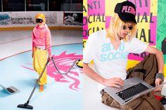 "Anti Social Social Club traz toda sua ""estranheza"" em nova coleção Streetwear, Anti Social, Dresses, Fashion, T Shirt With Collar, Sweatshirts, Fall Winter, T Shirts, Street Outfit"