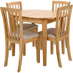 Banbury Extending Dining Table and 4 chairs at Homebase -- Be inspired and make your house a home. Buy now.  sc 1 st  Pinterest & Homebase Chiltern Extending Dining table u0026 4 Chairs | Kitchen ...